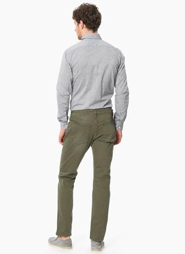 Network Slim Fit Uzun Kollu Gömlek Siyah